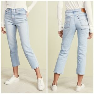Levi's Wedgie High Rise Crop Jeans Dibs